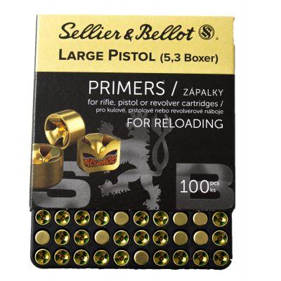 Primer large Pistol S&B