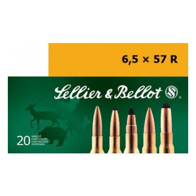 Cartridge 6,5x57R SP S&B