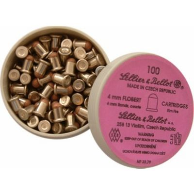 4mm Randz Curte Flobert S&B Cartridge