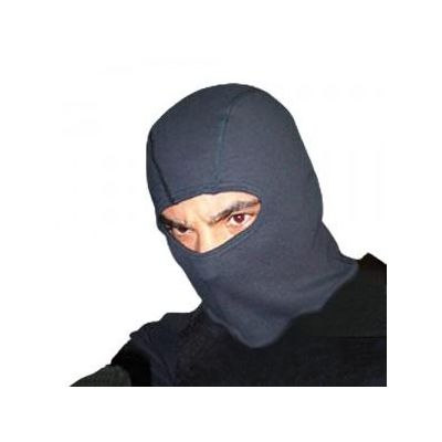 Balaclava fireproof Protex 1 hole (black)