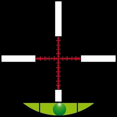 Optic sight 12,5-50x56 M-30 Konus