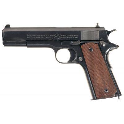 9 Colt 1911 pistol