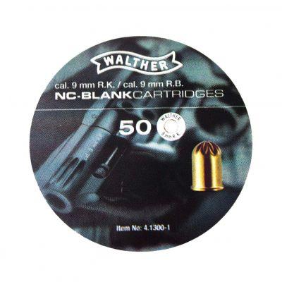 Blank Walther 9 blank cartridge