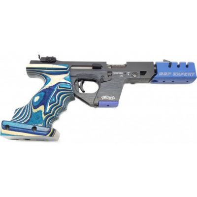 Pistola 22 Walther GSP Expert Special Zurdo