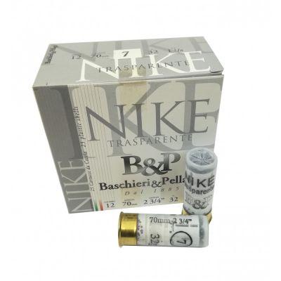 Cartucho 12 (10) 32gr Nike transparente Baschieri & Pellagri