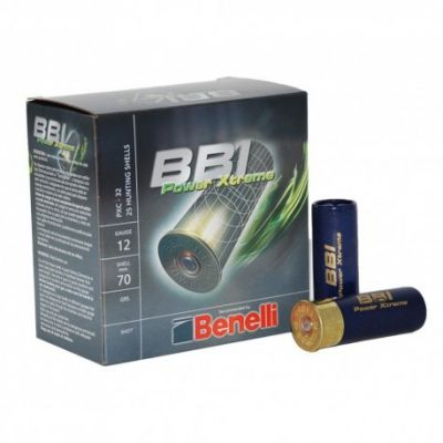 Cartucho 12 (7) 32gr Power Xtreme Benelli BBI
