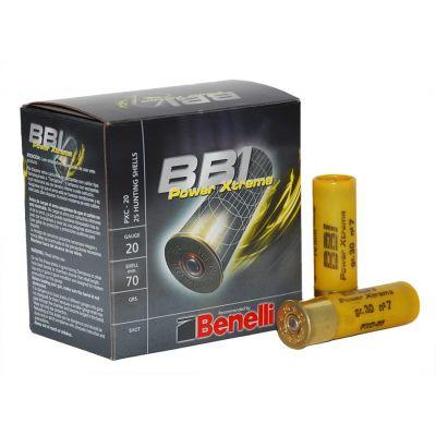Cartucho 20 (7) 30gr Power Xtreme Benelli BBI