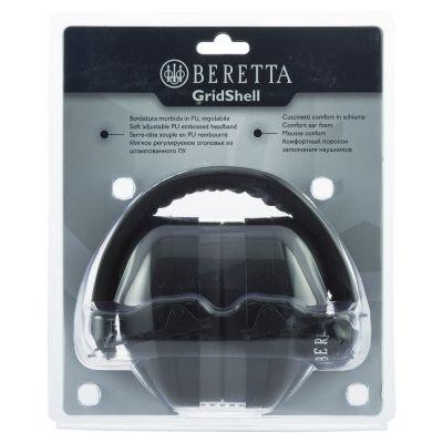 Ear protection Gridshell black Beretta