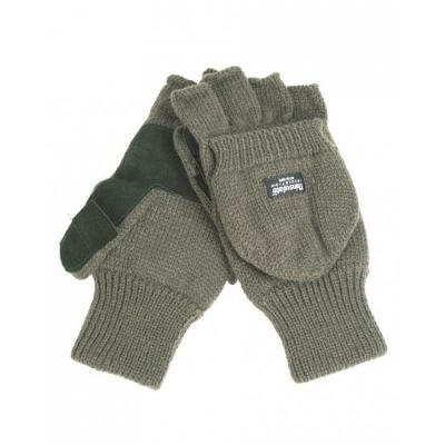 Gloves for knitted and leather hunting
