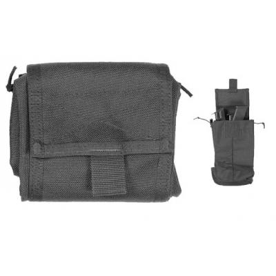 Vega black bushing bag