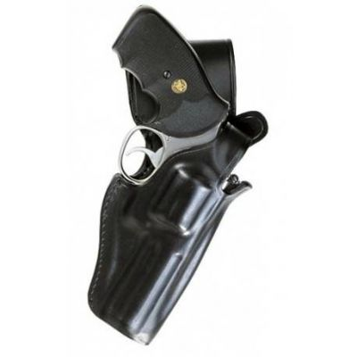 Leather Holster revolver 4. with bracket