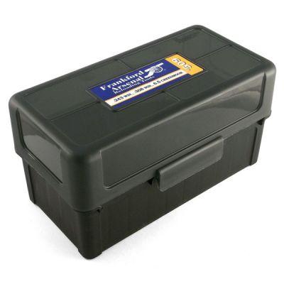 Ammunition box Mag num HINGE-TOP (50u) FRANKFORD