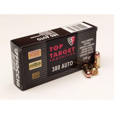 Cartridge 9 short 100gr Top Target Fiocchi