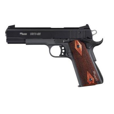 22 Sig Sauer 1911 pistol black