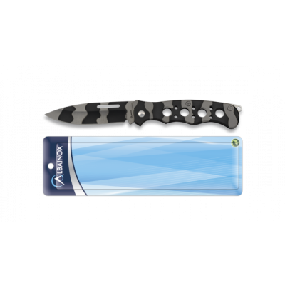 Knife steel camouflage blade 7,2cm Albainox