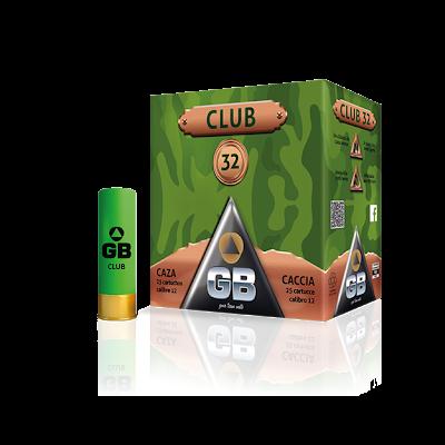 Cartridge 12 (6) 32gr GB club