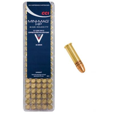 22 CCI mini mag cartridge