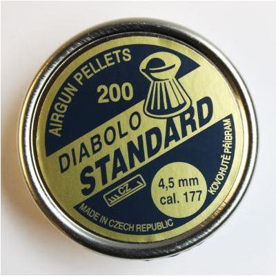 Balin 4,5 diabolo standard 200u.