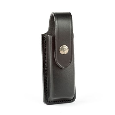 Holster magazine black leather HK Compact