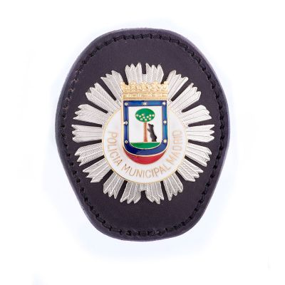 Badge with clip Policia Municipal Madrid