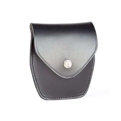 Holster handcuff s leather with cover