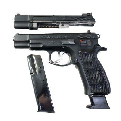 Gun 9 CZ75 + Kit 22. Used