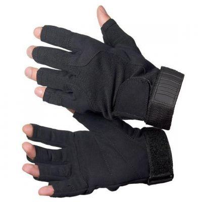 Elastic tactical mitt glove