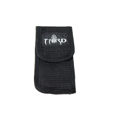 Funda navaja nylon Third negro