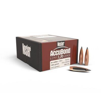 Bullet 30 168 gr Accubond Long Range Nosler 100 u