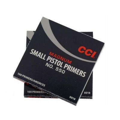 Primer CCI Small Pistol Mag num (No. 550)
