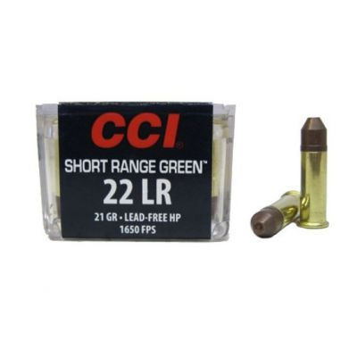 Cartucho 22 CCI Short Range Green ¡¡¡OFERTON!!!