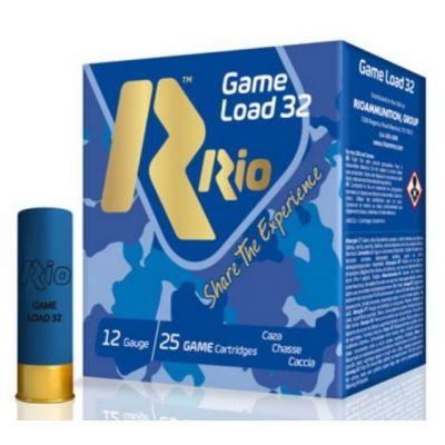 Cartridge 12 (6) 32gr Game Load RIO