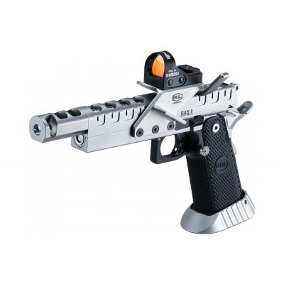 38 SAS II UR Heavy Metal pistol w / optic sight BUL