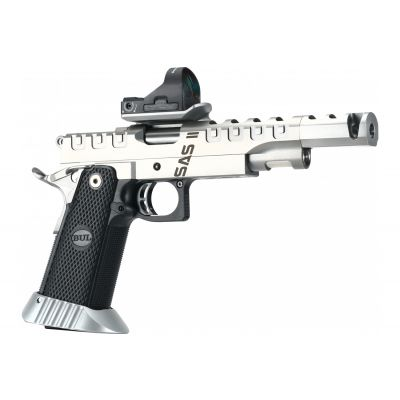 38 SAS II UR inox gun w / optic sight Bul