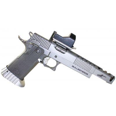 Pistola  38 SAS II Bullesteros Inox c/visor Bul
