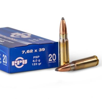 Cartridge 7.62x39 123 PSP PRVI