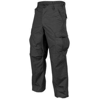 Long black puller trousers