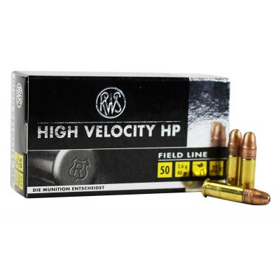 Cartucho 22 High Velocity RWS