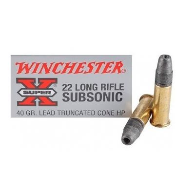 Cartridge 22 40gr Subsonica Winchester