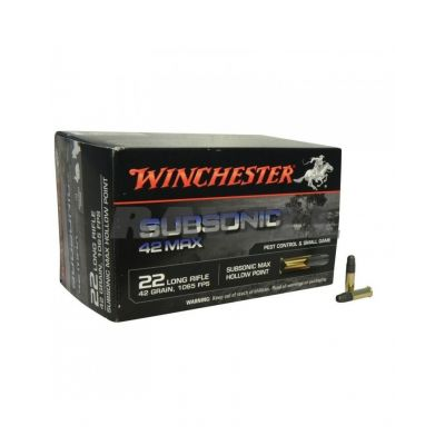 Cartridge 22 Subsonic 42 Max Winchester