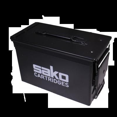 Caja municion metalica estanca Sako