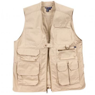Khaki tactical vest