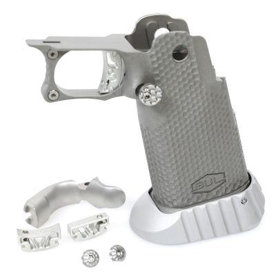 Steel grip SAS Bullesteros UR Open w / funnel Bul, grip safety and modular trigger