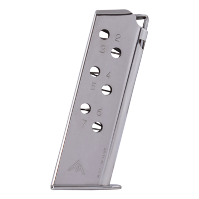 Cargador 7,65 Walther PPK niquel (7) Mec-Gar
