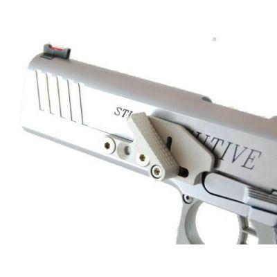 Apoyo pulgar STANDAR aluminio (3 agujeros)