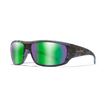 Glasses Wiley X Omega mirror emerald