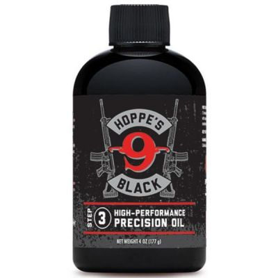 Oil lubricate before arms Hoppes Black 4Oz