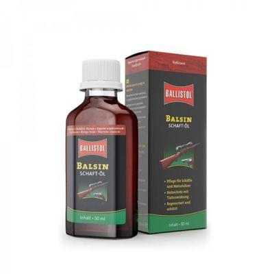 Aceite protector madera BALSIN marron oscuro 50ml BALLISTOL