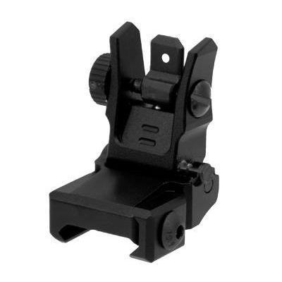 Rear Sight sight folding AR15 picatinny Leapers