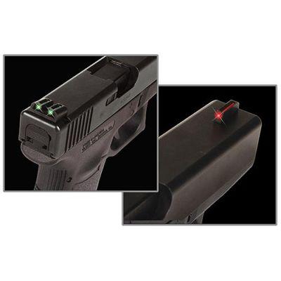 Alza y punto fibra Glock Truglo